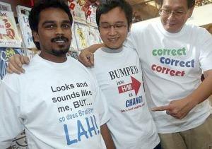 V.K. Lingam parody t-shirt