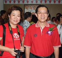 The housewife and the CM of Penang