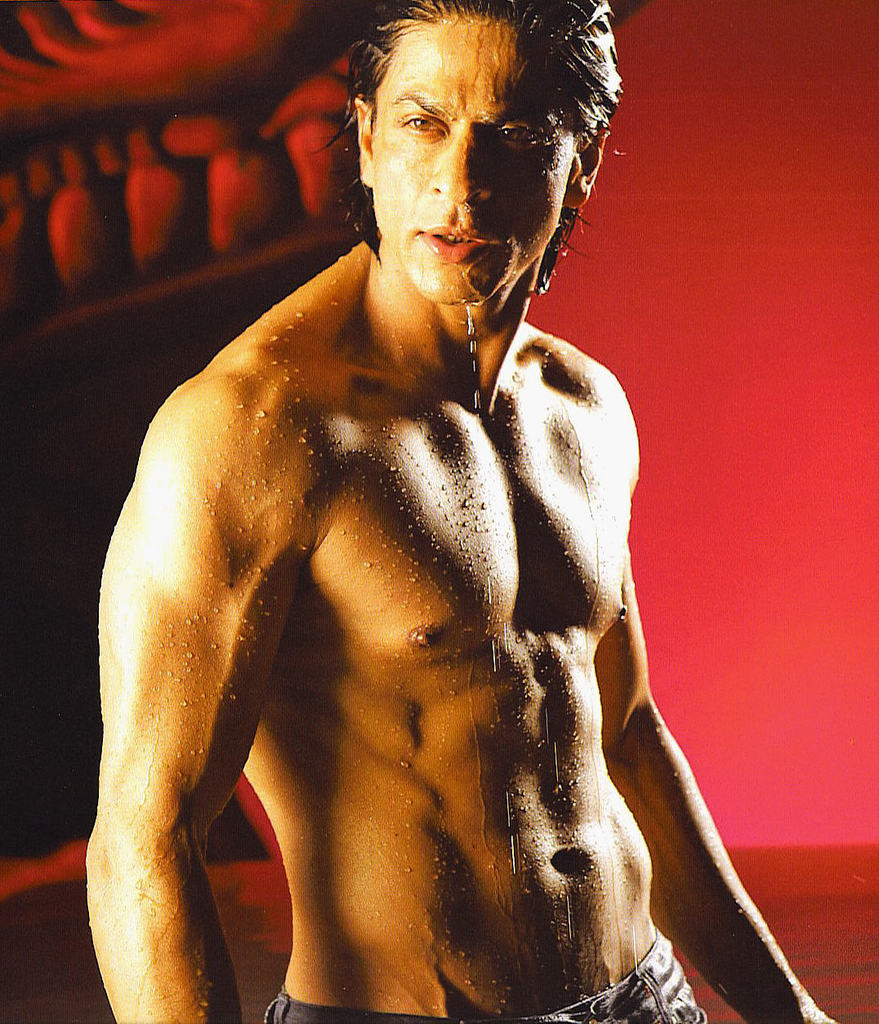 Naked hot Shah Rukh Khan