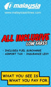 MAS All Inclusive Low Fares